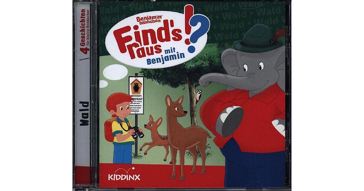 CD Benjamin Blümchen - Finds raus: Wald Hörbuch