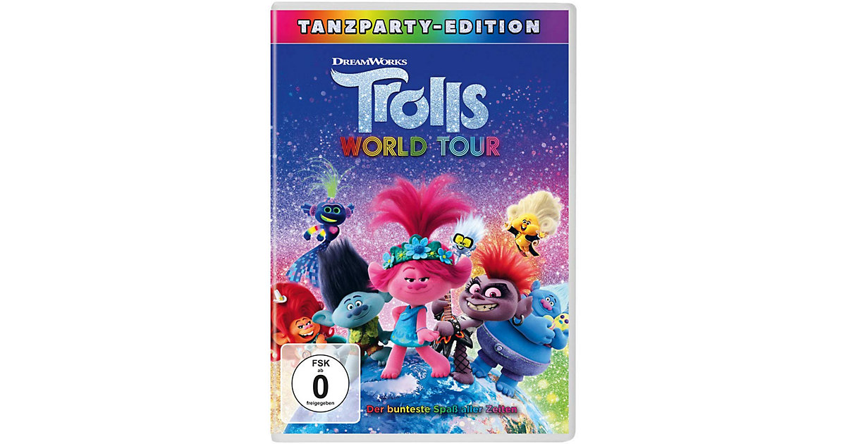 DVD Trolls - World Tour (2Kinofilm) Hörbuch