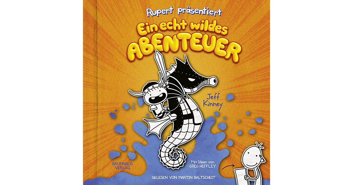 CD Rupert präsentiert Ein echt wildes Abenteuer/ Jeff Kinney, Ruperts Tagebuch Bd.2 (2 Audio-CDs) Hörbuch