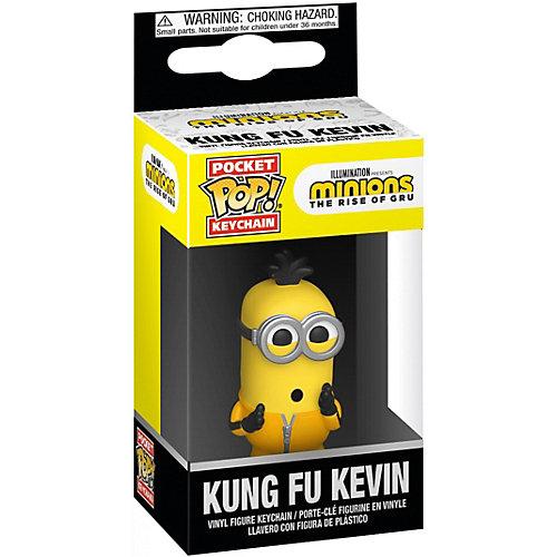 Брелок Funko Pocket POP! Keychain: Minions 2: Кунг-фу Кевин, 47798-PDQ от Funko