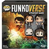 Настольная игра Funko POP! Funkoverse: Harry Potter 100 Базовый набор, 42631