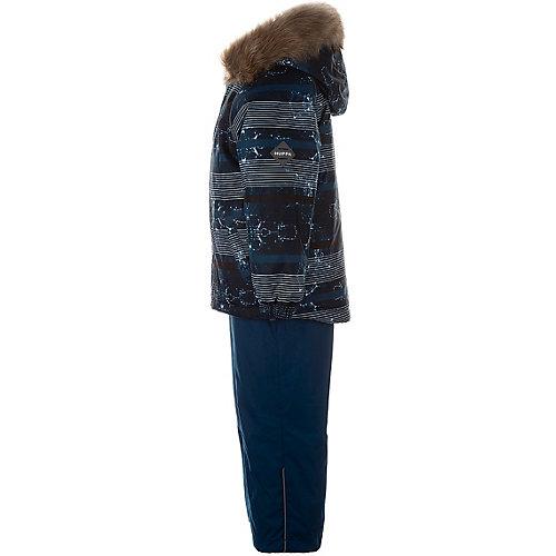 Комплект Huppa Winter: куртка и полукомбинезон - бирюзовый от Huppa