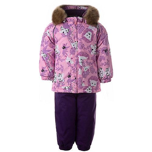 Комплект Huppa Avery: куртка и полукомбинезон - розовый от Huppa