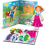 Магнитная игра-одевашка Vladi Toys Принцесса