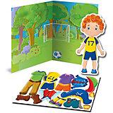 Магнитная игра-одевашка Vladi Toys Мальчик