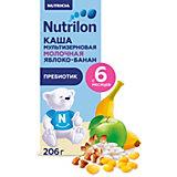 Жидкая молочная каша Nutrilon мультизлаковая, яблоко, банан с 6 мес, 9 шт по 206 г