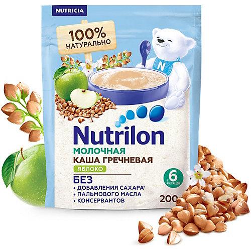 Молочная каша Nutrilon гречневая, яблоко с 6 мес 200 г от Nutrilon
