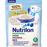 Молочная каша Nutrilon  рисовая с 6 мес, 6 шт по 200 г