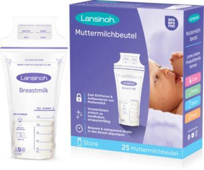 Muttermilchbeutel, 25 Stück