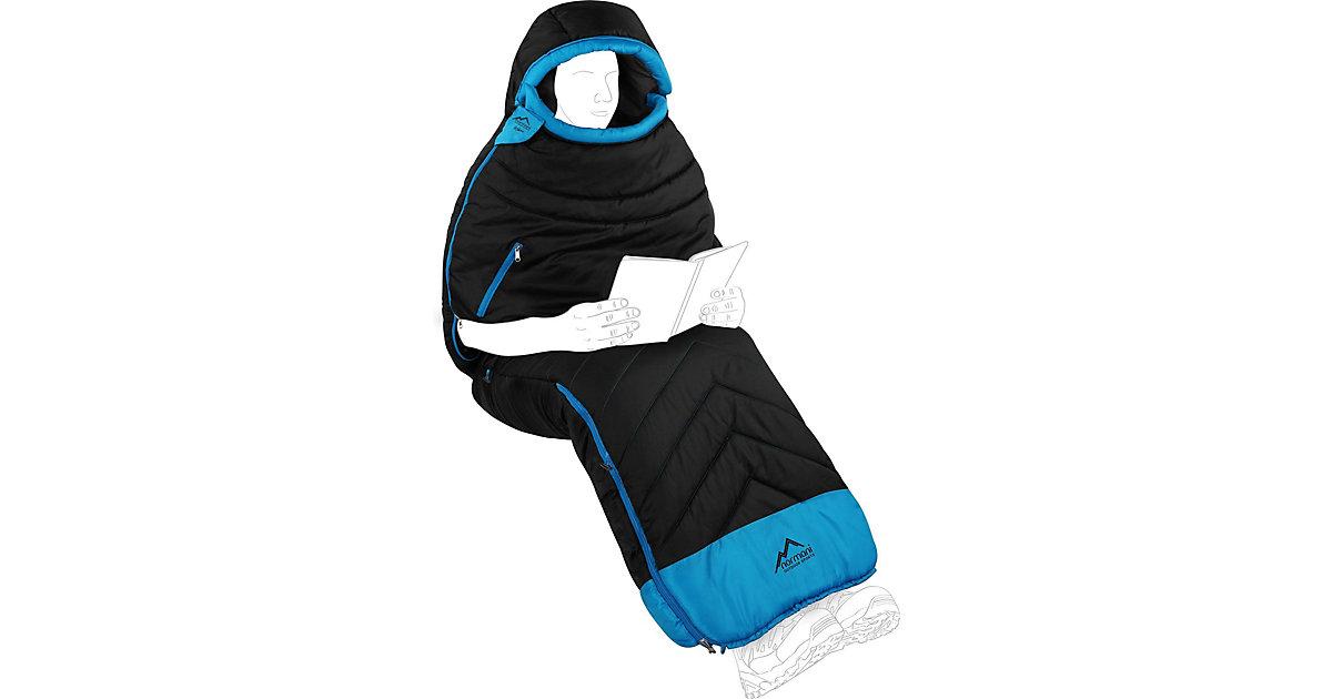 Schlafsack Kehno Schlafsäcke schwarz/blau