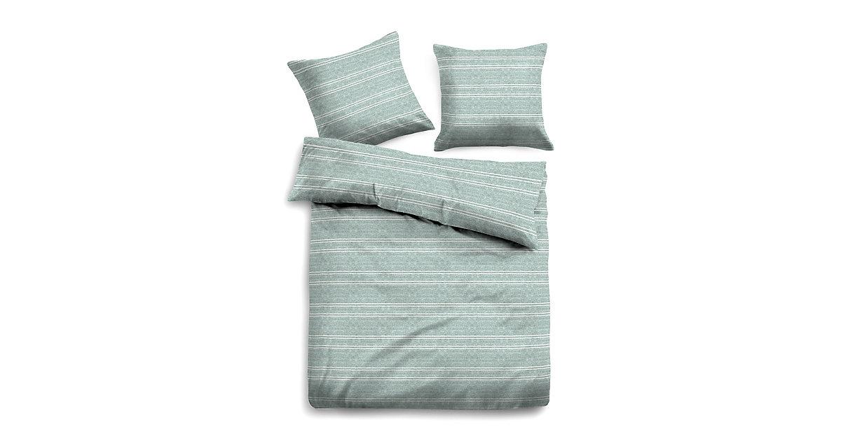 Bed Gestreifte Bettwäsche Bettwäsche mint Gr. 260 x 260 | Heimtextilien > Bettwäsche und Laken > Bettwäsche-Garnituren | TOM TAILOR