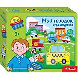 """Развивающая игра-шнуровка Step Puzzle """"Мой городок"""""""