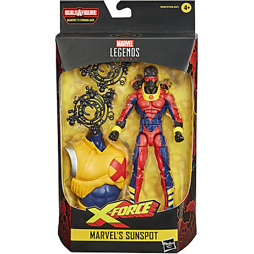 Фигурка Marvel Legends Deadpool X-Force Marvel`s Санспот, 15 см, E7456 от Hasbro