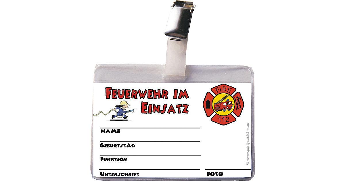 Ausweis Feuerwehrmann (inkl. Clip und Hülle) Jungen Kinder