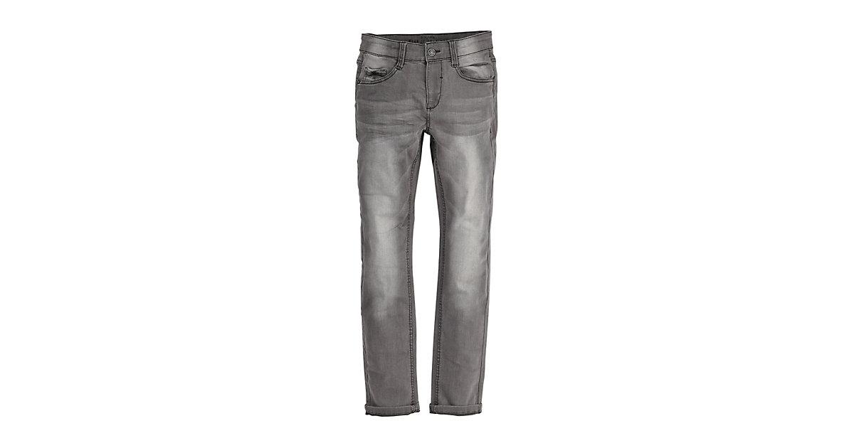 Wide Fit: Slim leg-Denim aus elastischer Qualität Jeanskleider  grau Gr. 134 Jungen Kinder