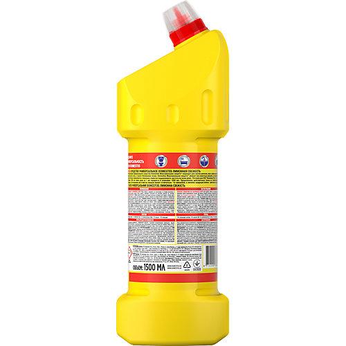 Гель Domestos Лимонная свежесть, 1500 мл