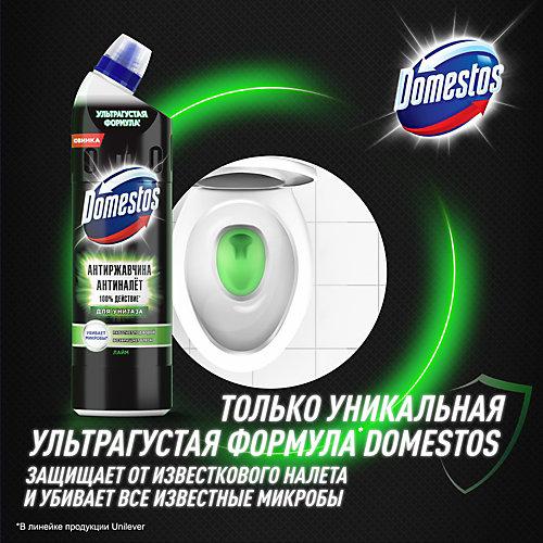 Чистящее средство для унитаза Domestos Грин Антиржавчина антиналёт, 750 мл
