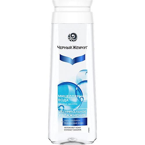 """Мицеллярная вода Черный Жемчуг """"Экстремальное увлажнение"""" для лица, век и губ, 750 мл"""