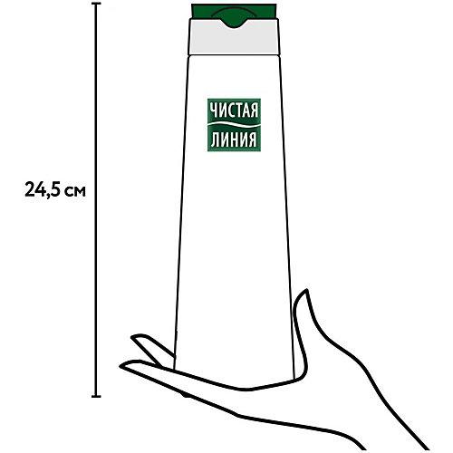 Шампунь-кондиционер-гель для душа Чистая линия энергия и чистота для мужчин, 400 мл