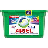 Капсулы для стирки Ariel Pods Touch of Lenor Color Всё в 1 капсуле, 12 шт