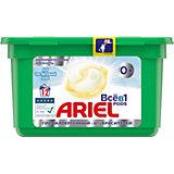 Капсулы для стирки Ariel Pods Sensitive Всё в 1 капсуле, 12 шт
