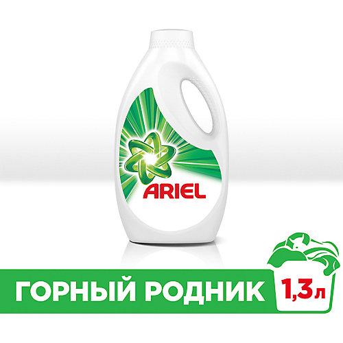 Гель для стирки Ariel Горный родник, 1,3 л