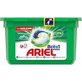 Капсулы для стирки Ariel Pods Горный Pодник  Всё в 1 капсуле, 12 шт