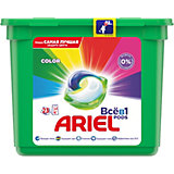 Капсулы для стирки Ariel Pods Color Всё в 1 капсуле, 23 шт
