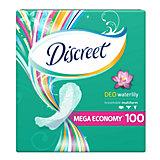 Женские ежедневные прокладки DISCREET Deo Water Lily Multiform, 100 шт.