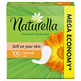 Женские ароматизированные ежедневные прокладки NATURELLA Calendula Tenderness (с ароматом календулы), 100 шт.