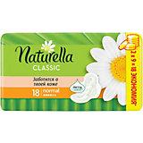 Naturella Classic Normal Ромашка Гигиенические Прокладки С Крылышками, Мягкость, Комфорт, Ежедневная Защита 18 Шт.