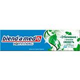 Зубная паста Blend-a-med Комплекс Отбеливание + природная свежесть, 100 мл.