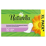 Женские ароматизированные ежедневные прокладки NATURELLA Calendula Tenderness Plus (с ароматом календулы), 50 шт.