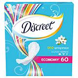 Женские ежедневные прокладки DISCREET Deo Spring Breeze Multiform, 60 шт.