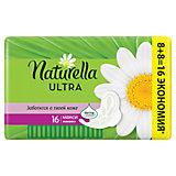 Женские ароматизированные прокладки NATURELLA ULTRA Maxi (с ароматом ромашки) Duo, 16 шт.