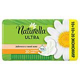 Женские ароматизированные прокладки NATURELLA ULTRA Normal (с ароматом ромашки) Duo, 20 шт.