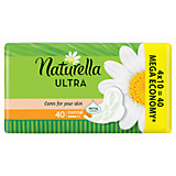 Женские ароматизированные прокладки NATURELLA ULTRA Normal (с ароматом ромашки) Quatro, 40 шт.