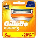 Сменные кассеты Gillette Fusion5, 8 шт