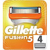 Сменные кассеты Gillette Fusion5, 4 шт