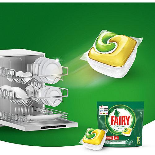 Капсулы для посудомоечной машины Fairy Original All in One 24 шт