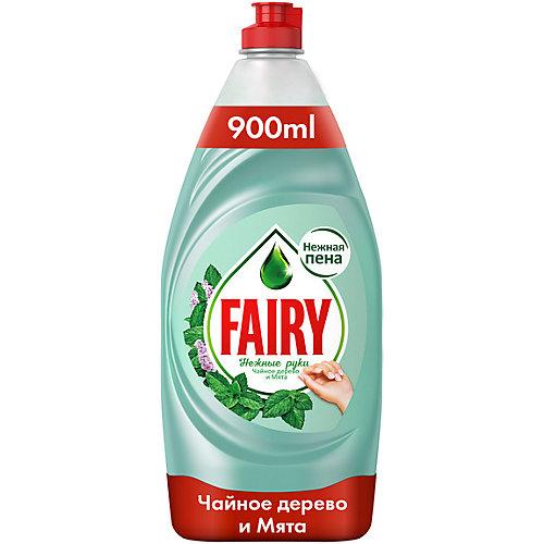 Средство для мытья посуды Fairy Нежные ручки Чайное дерево и мята 900 мл