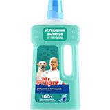 Моющая жидкость Mr. Proper для домов с питомцами, 1 л