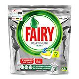 Капсулы для посудомоечной машины Fairy Platinum All in One Лимон 70 шт/уп