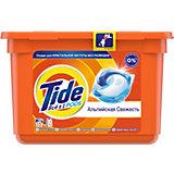 Капсулы для стирки Tide все в 1
