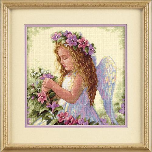 """Набор для вышивания Dimensions """"Цветочный ангел"""" от Dimensions"""