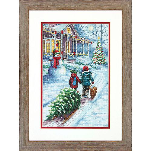 """Набор для вышивания  """"Традиция в Рождество""""   35 x 25 см от Dimensions"""