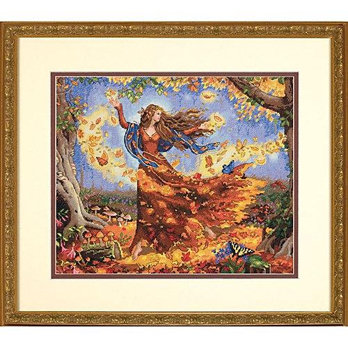 "Набор для вышивания Dimensions ""Осенняя фея"" от Dimensions"