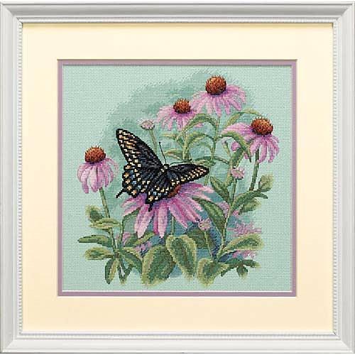 "Набор для вышивания Dimensions ""Бабочка и ромашки"" от Dimensions"