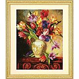 """Набор для вышивания """"Пёстрые тюльпаны""""   30.4 x 38.1 см"""