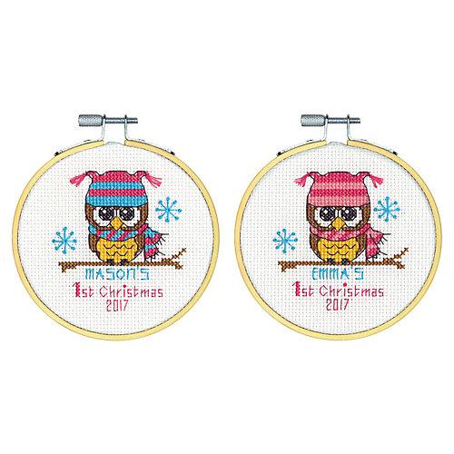 """Набор для вышивания Dimensions """"Первое рождество"""" от Dimensions"""